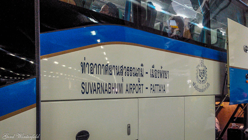 Bangkok Airport - Pattaya Bus